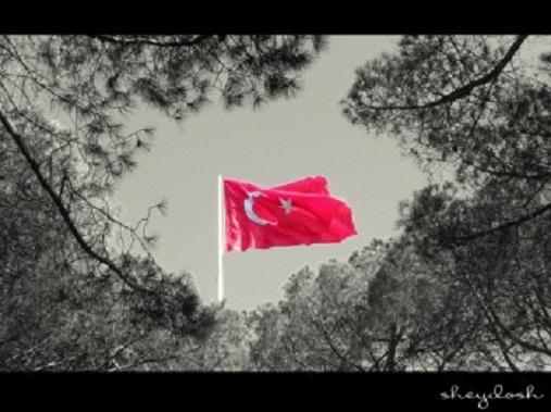 BİR BAYRAK RÜZGÂR BEKLİYOR!
