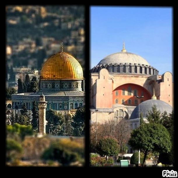 AYASOFYA, MESCİD-İ AKSA VE GARİPLER