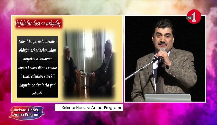 NUR'UN MÜTEVAZI ÇEHRESİ; MEHMED KIRKINCI HOCAM-4