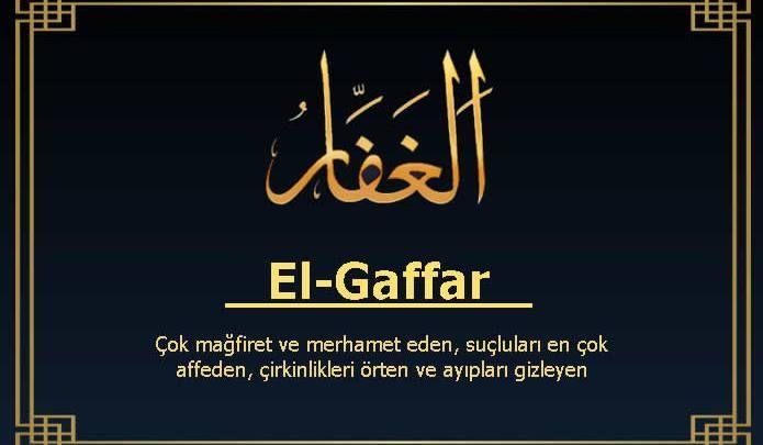 EL-GAFFAR (EL-GAFUR)