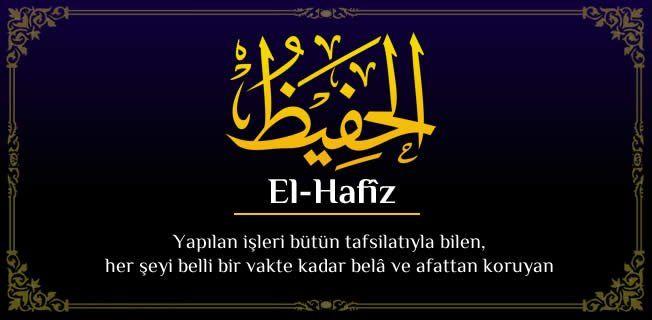EL-HAFÎZ