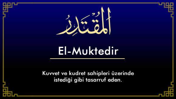 EL-MUKTEDİR