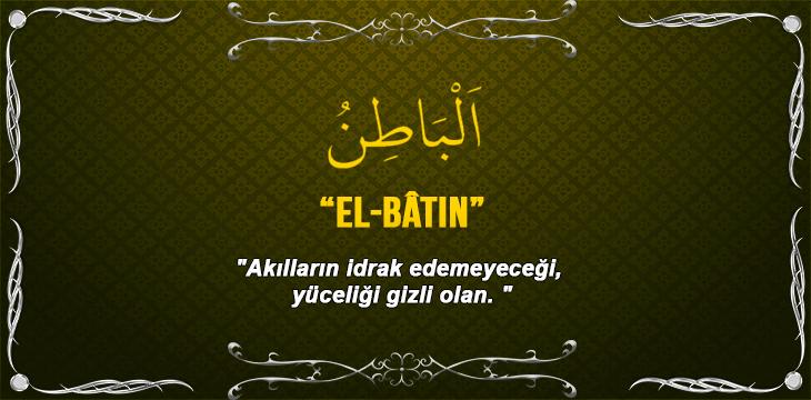 EL-BÂTIN