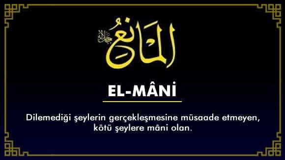 EL-MÂNİ'