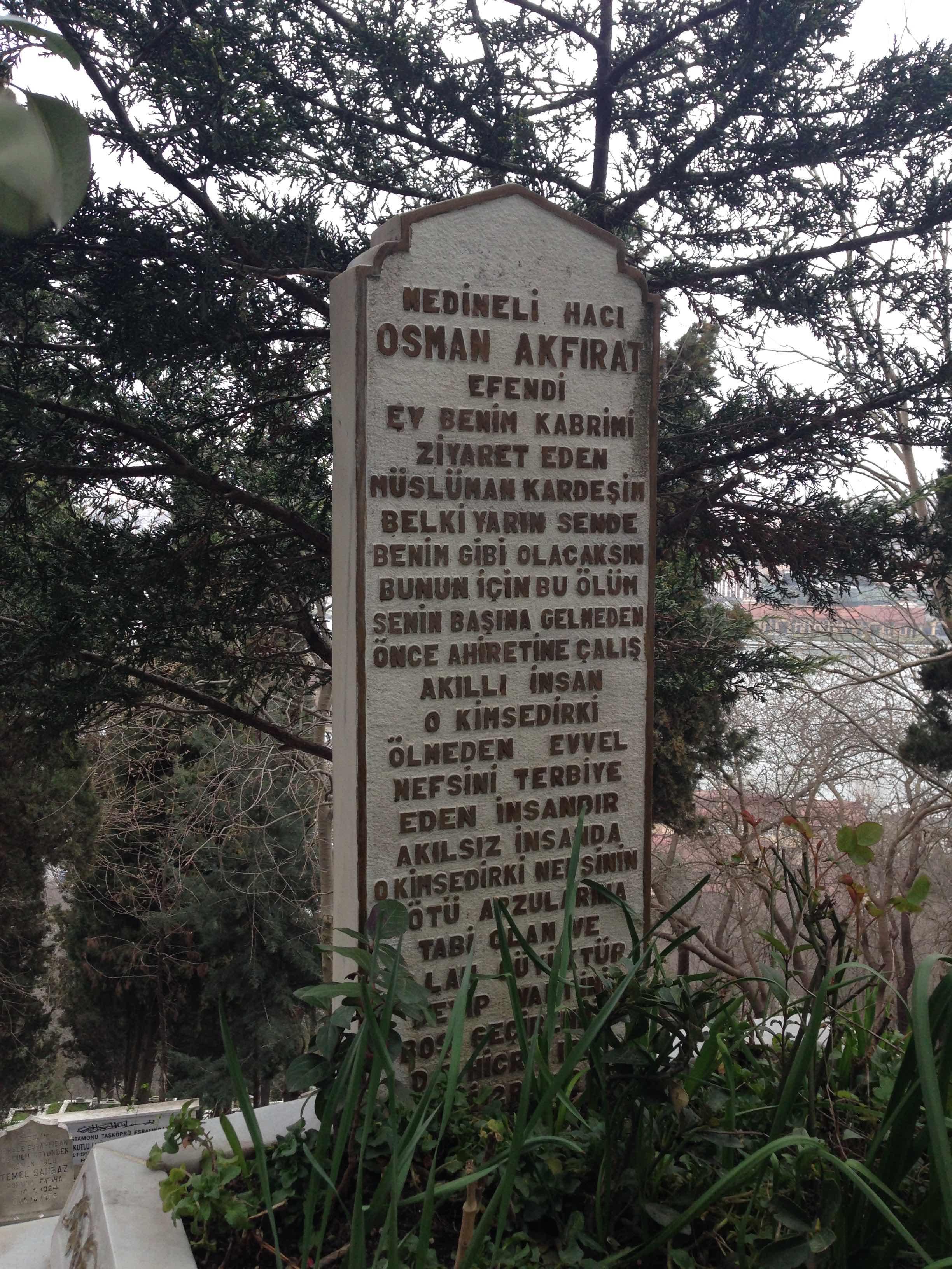 MEDİNELİ HACI OSMAN EFENDİ'DEN SOHBET NOTLARI-5